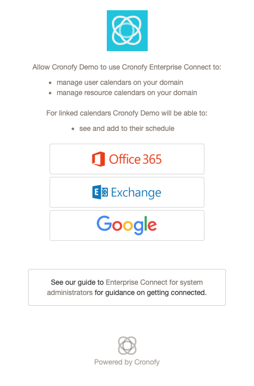 Enterprise Connect for Office365 and Exchange   Calendar